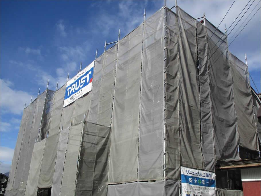 施工した建物の写真